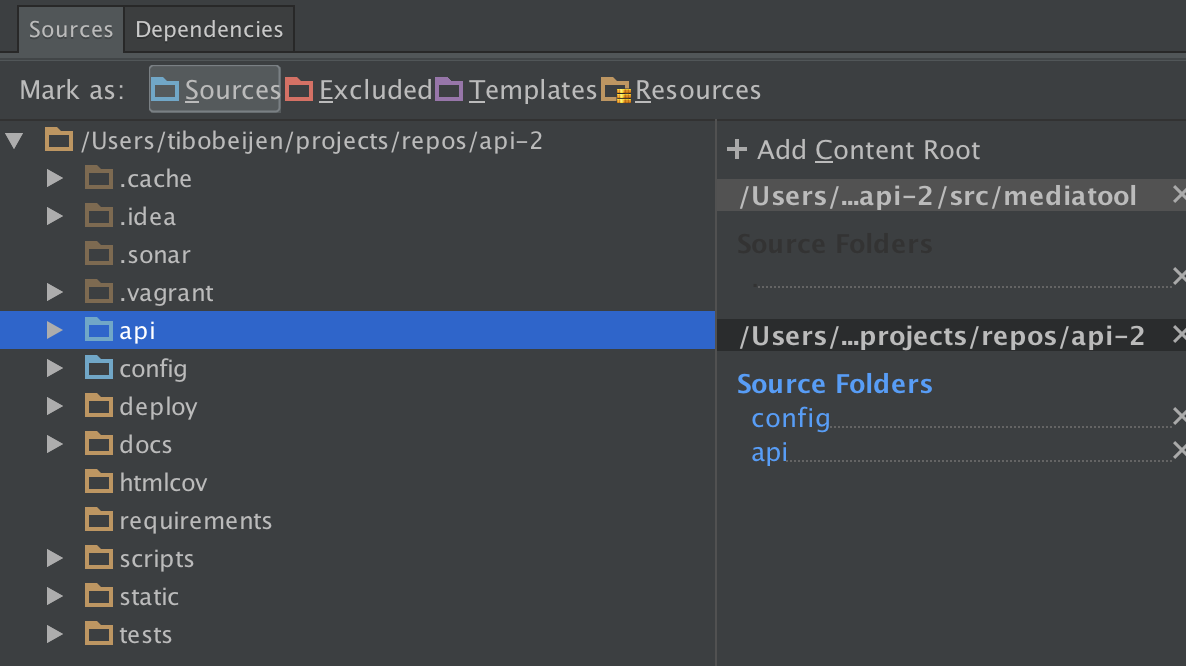 Taming PYTHONPATH in PyCharm and IntelliJ · TBNL